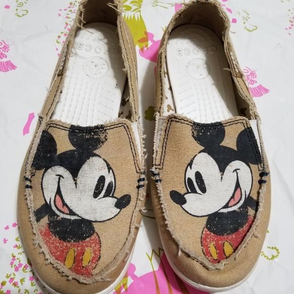 picked up utterly stylish detailing CROCS Shoes   Mickey Mouse Melbourne Canvas Disney   Poshmark